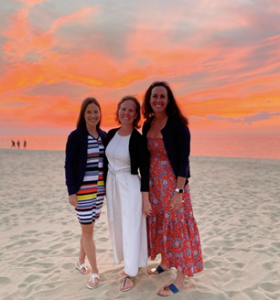 This year, I celebrate 15 years of Nantucket vacations with my friends Shelby Loder Grey and Susan Cramer